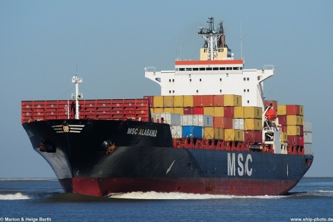 MSC Alabama - 01.05.2013, Bremerhaven